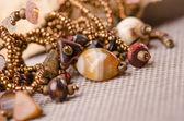 Handgjorda smycken — Stockfoto