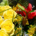 Wedding arrangement — Stock Photo