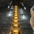 Stock Photo: Salt extraction Turda