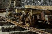 Salt extraction Turda — Stock Photo