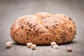 Pão com sementes — Foto Stock