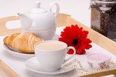 Desayuno con amor — Foto de Stock