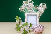 Velikonoční uspořádání — Stock fotografie