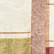 Squares and lines fabric texture background — Stock Photo #13599454