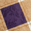 Squares and lines fabric texture background — Stock Photo #13600637