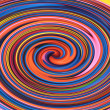 Colored spiral, abstract background — Stock Photo