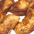 Plate of delicious homemade French toast, torrijas - Stock Photo