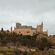 Alcazar called castle in Segovia, Spain — Stock Photo