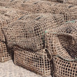 Cages for fishing seafood — Stock Photo #38419629