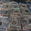 Cages for fishing seafood — Stock Photo #38419869