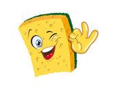 Sponge — Stock Vector
