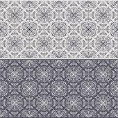 Nahtlose Muster orientalisch — Stockvektor