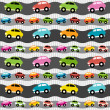 Royalty-Free Stock Vector Image: Background with cars