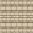 Stock Vector: Brown retro background with film strips