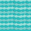 Paper sea — Stock Vector