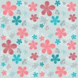 Vector background with flowers — Stock Vector #50564211