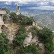 Spain. Catalonia. Montserrat - Stock Photo