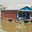 Cambodia Tonle Sap Lake. - Stock Photo