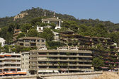 Ispaniya.Kataloniya.Tossa de Mar. — Stock Photo