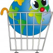 Shopping cart — Foto de stock #12424433