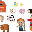 Farm icons — Stock Photo #12425062