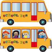 школьный автобус — Стоковое фото