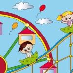 Amusement park — Stock Photo #12597389