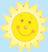 Sol feliz — Foto de Stock