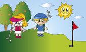 Golf sport — Stock Photo