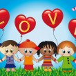 Love children — Stock Photo #13404097