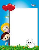 Children paper — Stock Photo