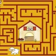 Maze for children — Stock Photo #13846423