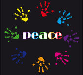 Peace illustration — Stock Photo