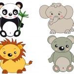 Animals illustration — Stock Photo