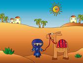 Wüstenlandschaft — Stockfoto