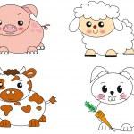 Animal illustration — Stock Photo