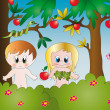 Adam and eve — Stock Photo #14571673
