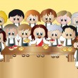 Last supper — Stock Photo #14572141