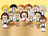 Last supper — Stock Photo
