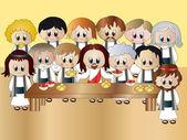 Last supper — Stock Photo