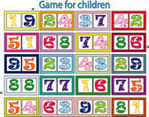 Game for children — Stock Photo