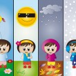 Stock Photo: Seasons