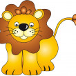 Lion illustration - Stockfoto