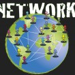 Network — Stock Photo #15260775