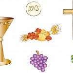 Symbols of christianity — Stock Photo