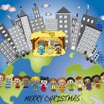Vánoční svět — Stock fotografie