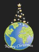 クリスマスの世界 — ストック写真