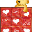 Stock Photo: Love card
