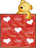 Love card — Stock fotografie