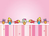 Baby illustration — Stock Photo